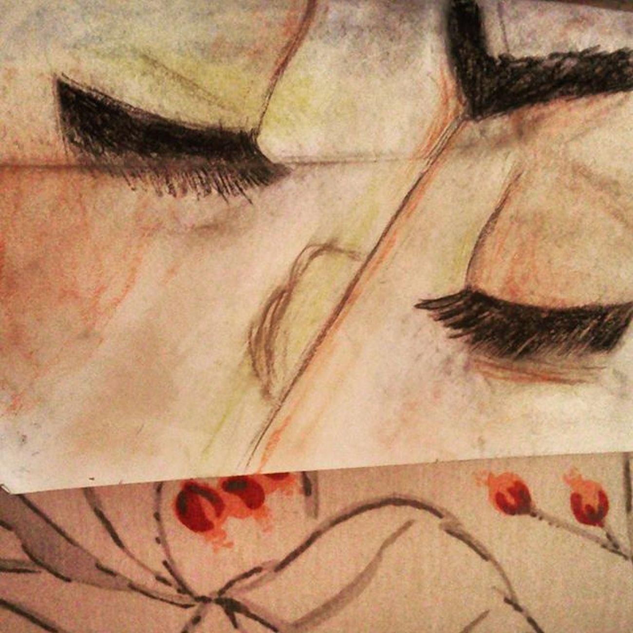 Amor es fuego aventado por el aura de un suspiro; fuego que arde y centellea en los ojos del amante. - Guillermo Shakespeare Whpthisislove . . . . . Drawing Draw Chalk Faces Guillermoshakespeare Romeoandjuliette Artgram Art Arte Artofdrawingg Artmg03