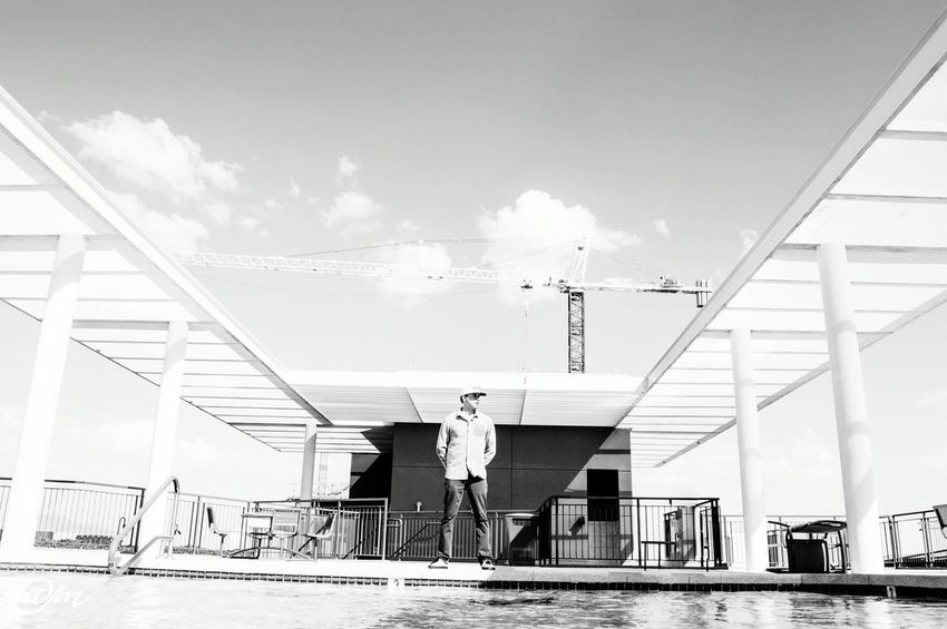 Sky's the limit Check This Out Enjoying Life Motivation Sky Blackandwhite Photography Nikon Photography Dj Dopephotography Urbanphotography Nolimits Architecture Rooftop Photooftheday Photographylovers Swag Music Taking Photos LoveMyWork Goals Downtown Phoenix, AZ