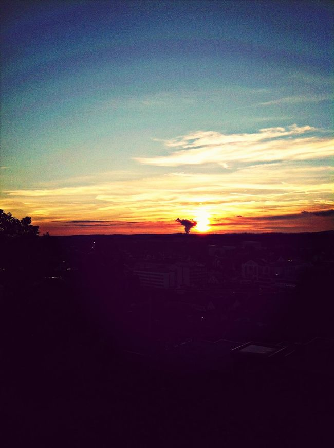 Sunset Heaven Open Heart