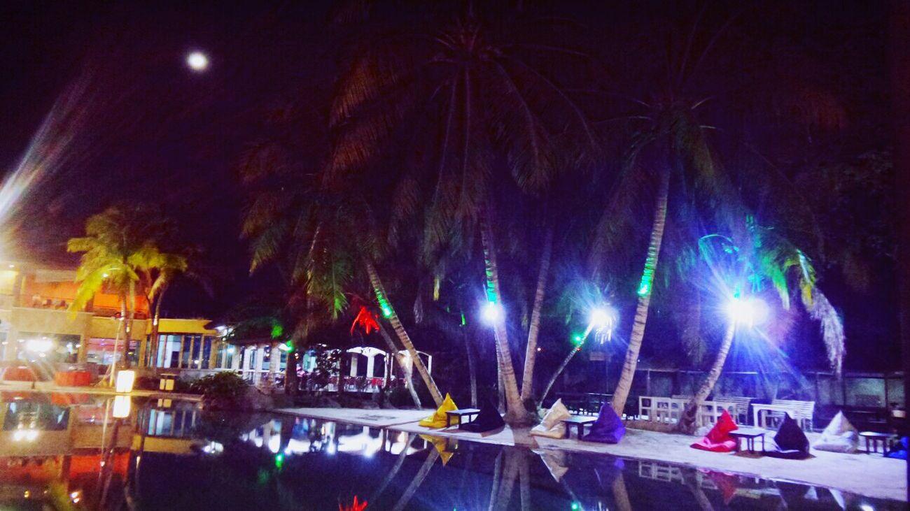 Night Dinner Great Atmosphere Seafood Lovers 🌴🐚🍴