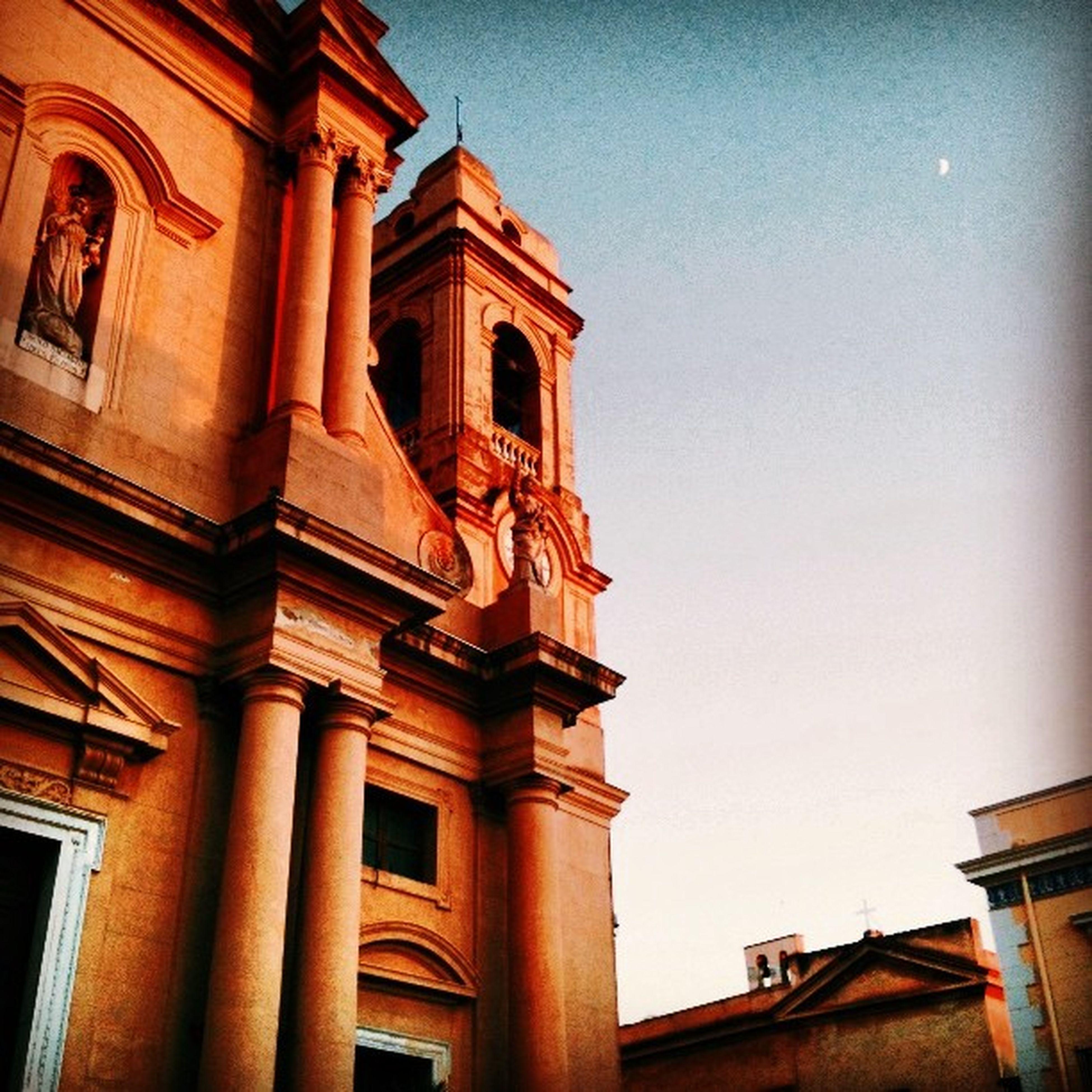 Terrasini Duomo Sicily Summer Sunset