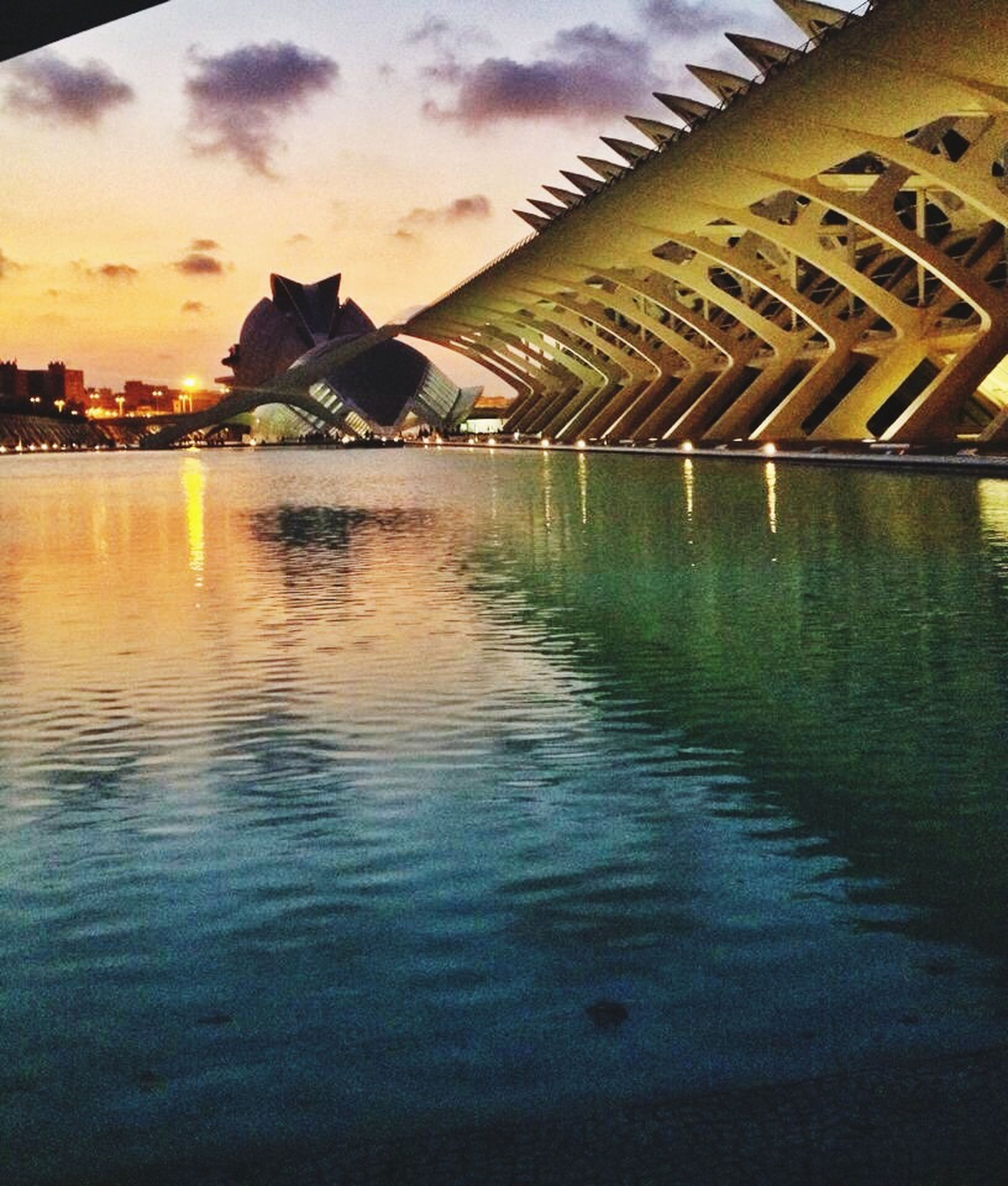 Sunset In Valencia