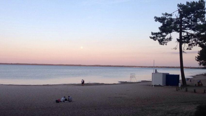 Lac Sunset Pink Sky