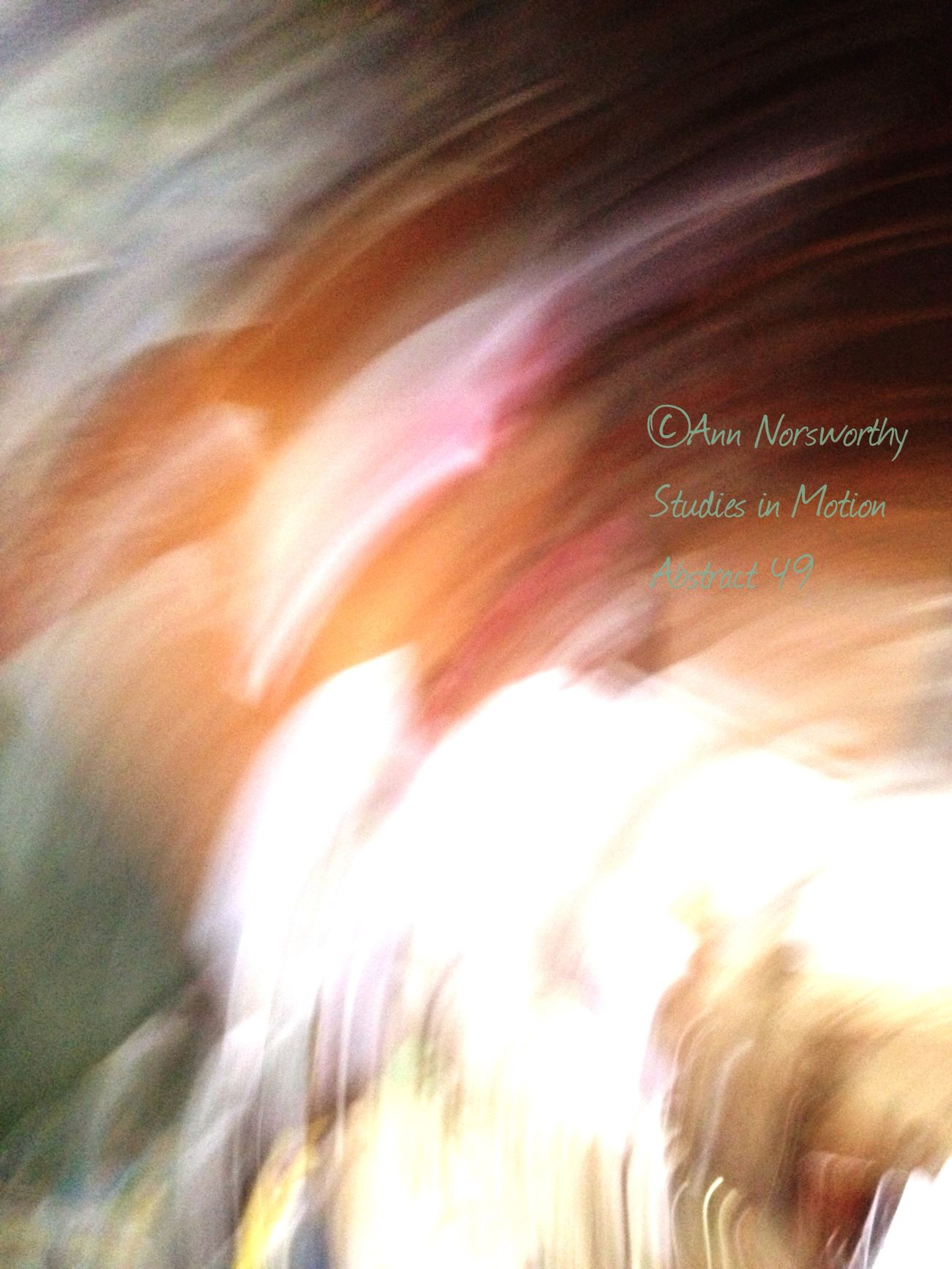 ©Ann Norsworthy Studies In Motion Abstractions In Colors IoLIGHTstudios  EyeEm Filter L3
