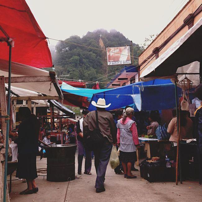 Yomochilero en Tenango de Doria, Hidalgo. Mexico