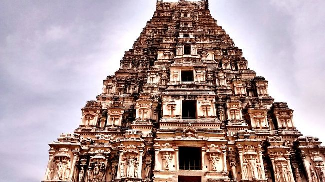 Hampi  Incredible India Temple History Vintage Scriptures Turiya Inner Peace