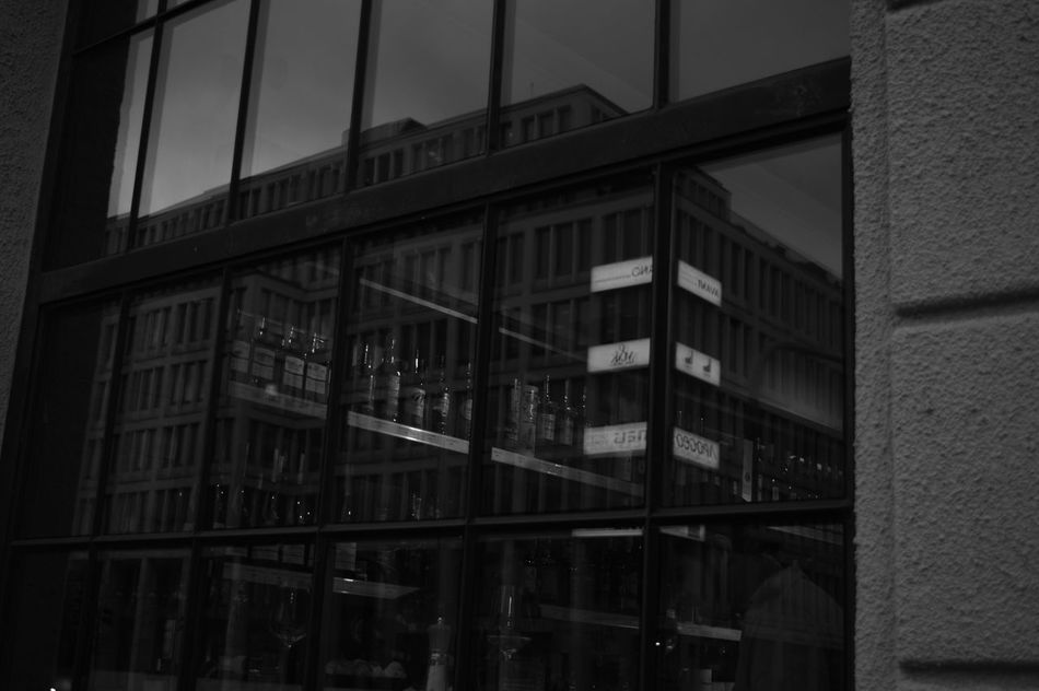 Architecture Black & White Building Exterior Built Structure City Glassreflections Monochrome Photography Nikonphotographer Nofilter Outdoors Prague Czech Republic Prague♡ Reflections Urbanphotography Window Welcome To Black