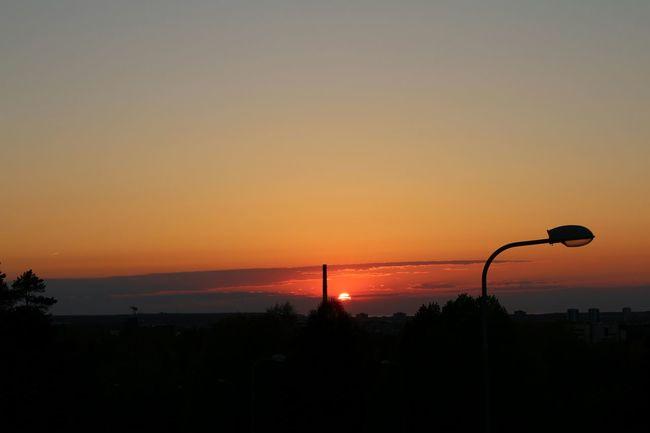 Sunset Nõmme Frombridge Town Warm Colors Last