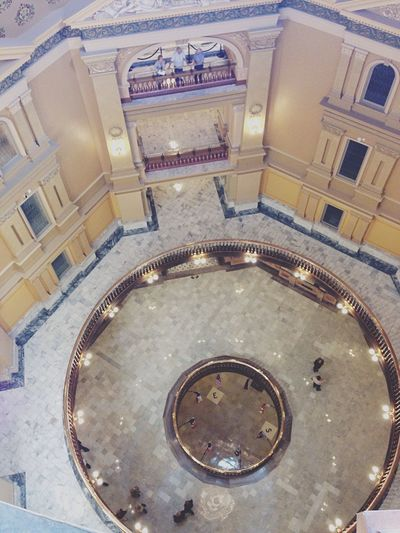 The circles of the Capitol. Tourists Sightseeing Being A Tourist Taking Photos Visiting Photography Home State Kansas