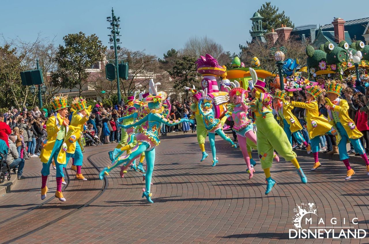 Multi Colored Celebration Women HDR Disneyland Celebration Disneyland Paris Hdrphotography Disneyland Resort Paris Waltdisney Disney