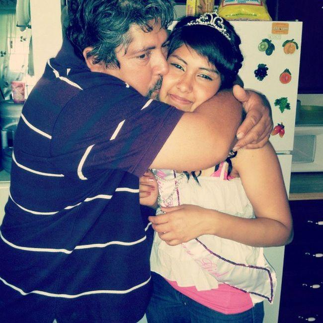 Me on my Birthdayy last year with my dad  Iwaschubby D: