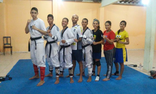 Academia Ativa CombaT Training Taekwondo Happy