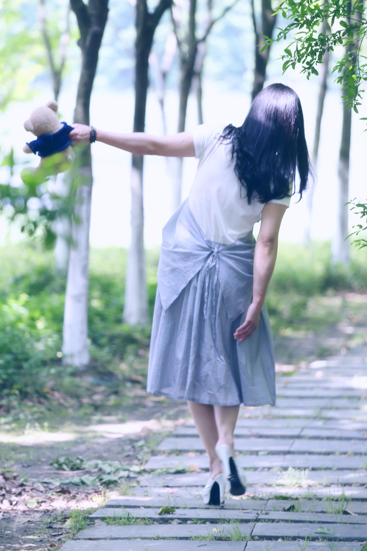 Beautiful stock photos of schmetterling, full length, standing, tree, lifestyles
