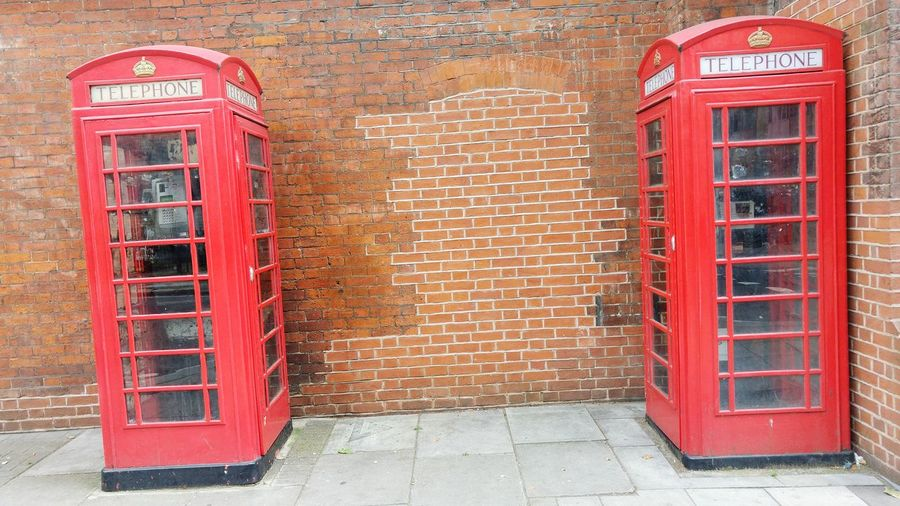 Old Telephone Booth Phone Booth Twin Phone Booths Disappearing World Red Phone Booth Seen On My Walk Central London Working Phones Antiques Street Photography Man Made Object