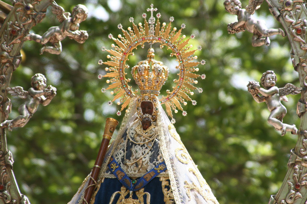 Backgrounds Close-up Day Decor Decoration Design España Focus On Foreground Full Frame Image Of The Virgin Del Prado Image Of The Virgin Mary Low Angle View Nature No People Ornate Outdoors Selective Focus SPAIN Talavera De La Reina Toledo Toledo Spain Virgen Del Prado