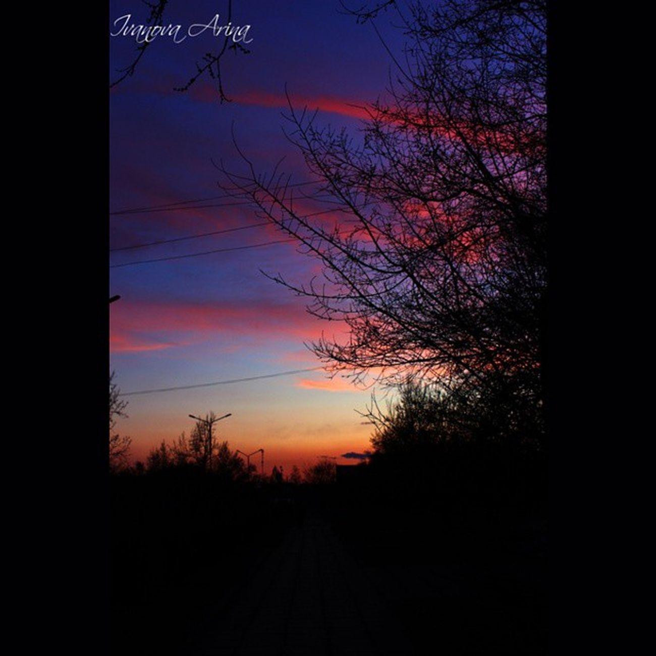 Мое небо! краснокаменск какоенебовзабайкалье какойчудесныйдень назакат Закат любимыйгород Sky