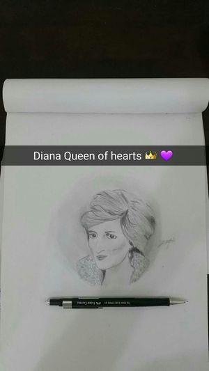 Diana Princess رسمتي