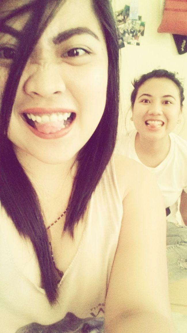 Selfie Crazy Face Crazygirls Wackyface Tounge Out  :P