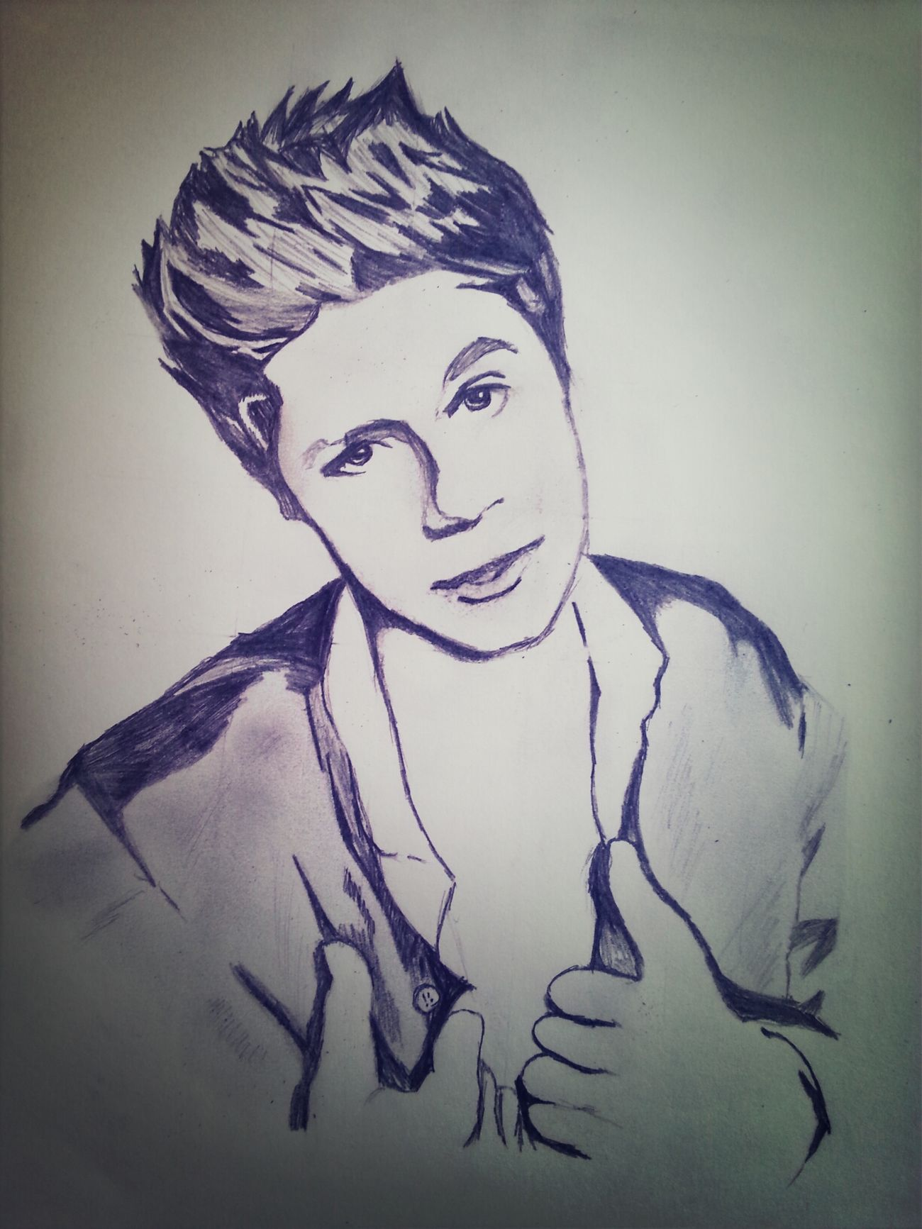 Niall Horan <3 Nialler My Draw ♥ Love Drawing ❤