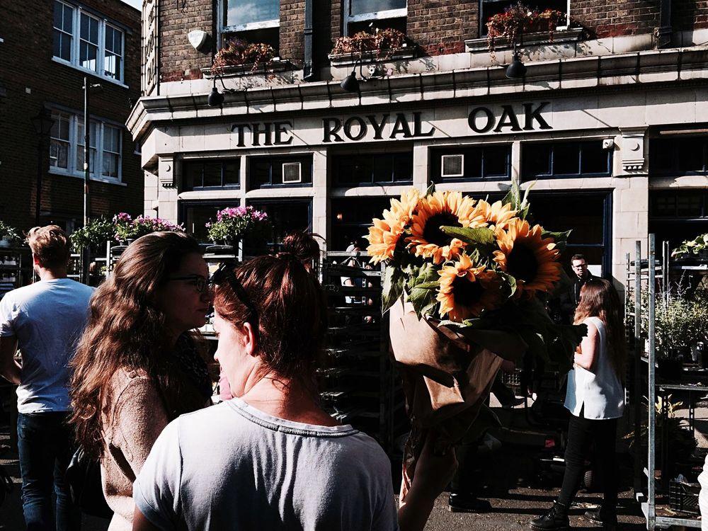 Sunflower Flowers Market Streetphotography