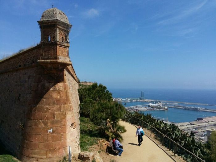 Castell De Montjuic Barcelona Port De Barcelona  Architecture