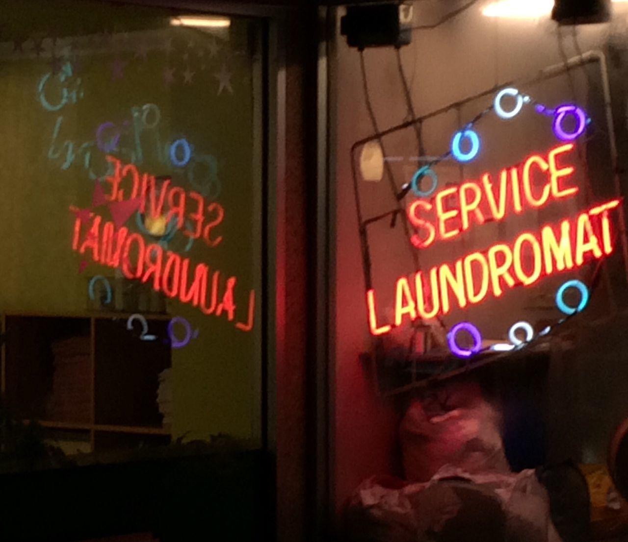 Neon Sign Nightphotography Open Edit