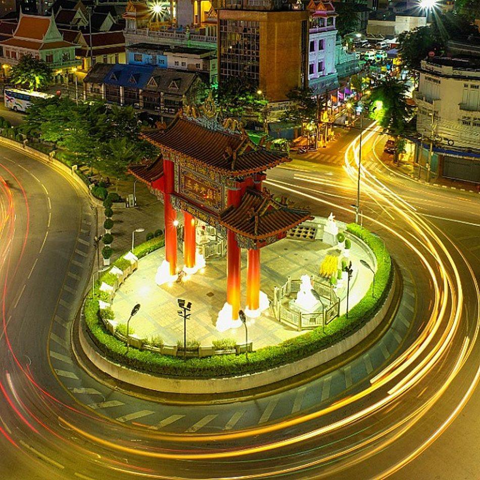 Bangkok-China town Fujifilm Fujixm1 Fujithailand Cityscape Nightscape Night Igerth Igersthailand Igersworldwide Bangkok Thailand_allshots Adayinthailand