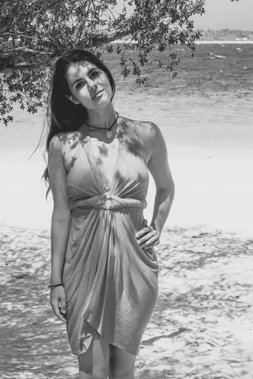 Vacation Black And White Monochrome Beach Ion Portrait Modeling Not A Model Healthy Is The New Skinny INDONESIA