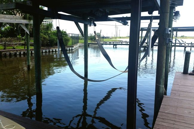 Water Connection Built Structure Transportation Railing Tree Reflection Footbridge Day Tranquility Outdoors Dock Fishing Pier Boat Dock Relaxing Calm Idyllic Nature Scenics Blue Lake