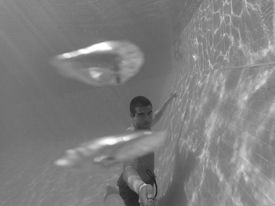 Taking Photos That's Me Breathing Underwater Notes From The Upperground Notes From Underwater EyeEm Best Shots Kiko's Life Peoplephotography Monochrome Blackandwhite Photography