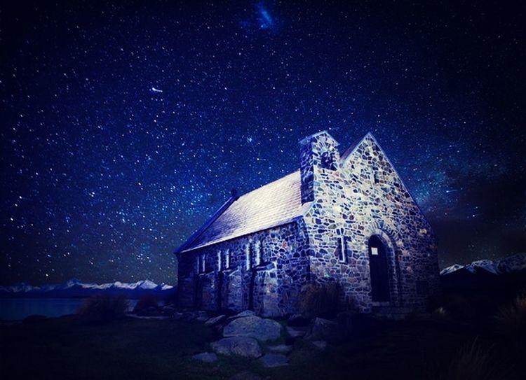 I wish one day I can go to NewZealand Tekapo and see the starry sky