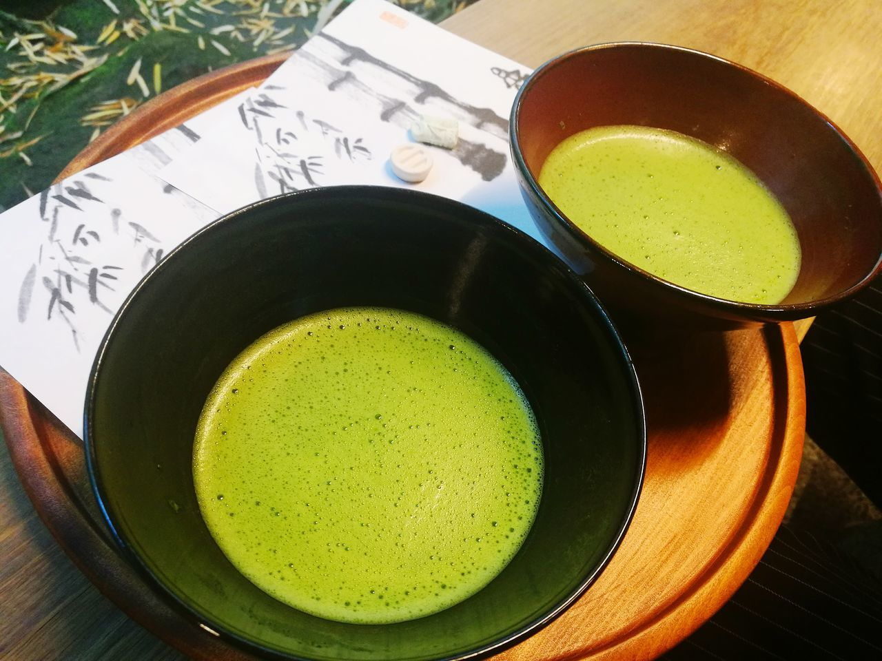 Food And Drink Matcha Tea Freshness Green Tea Green Color Directly Above Tea Ceremony Healthy Eating Cultures Drink Close-up Indoors  No People Food Ready-to-eat Day
