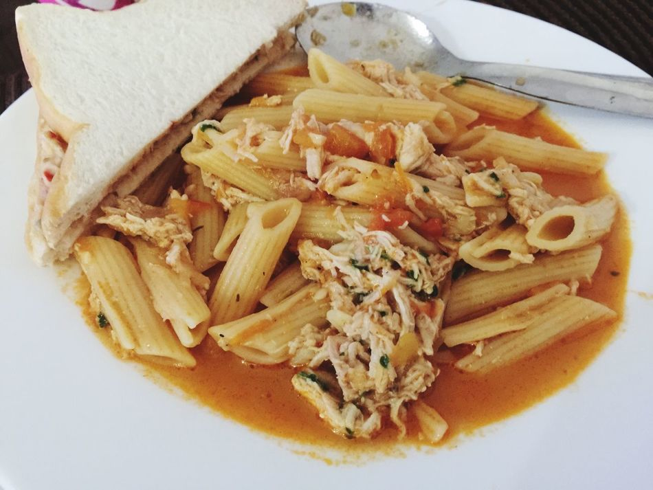 Let's Eat Bon Appétit! ChickenParmesanPasta Tunasandwich AlaChefMode Ilovefood Ilovecooking