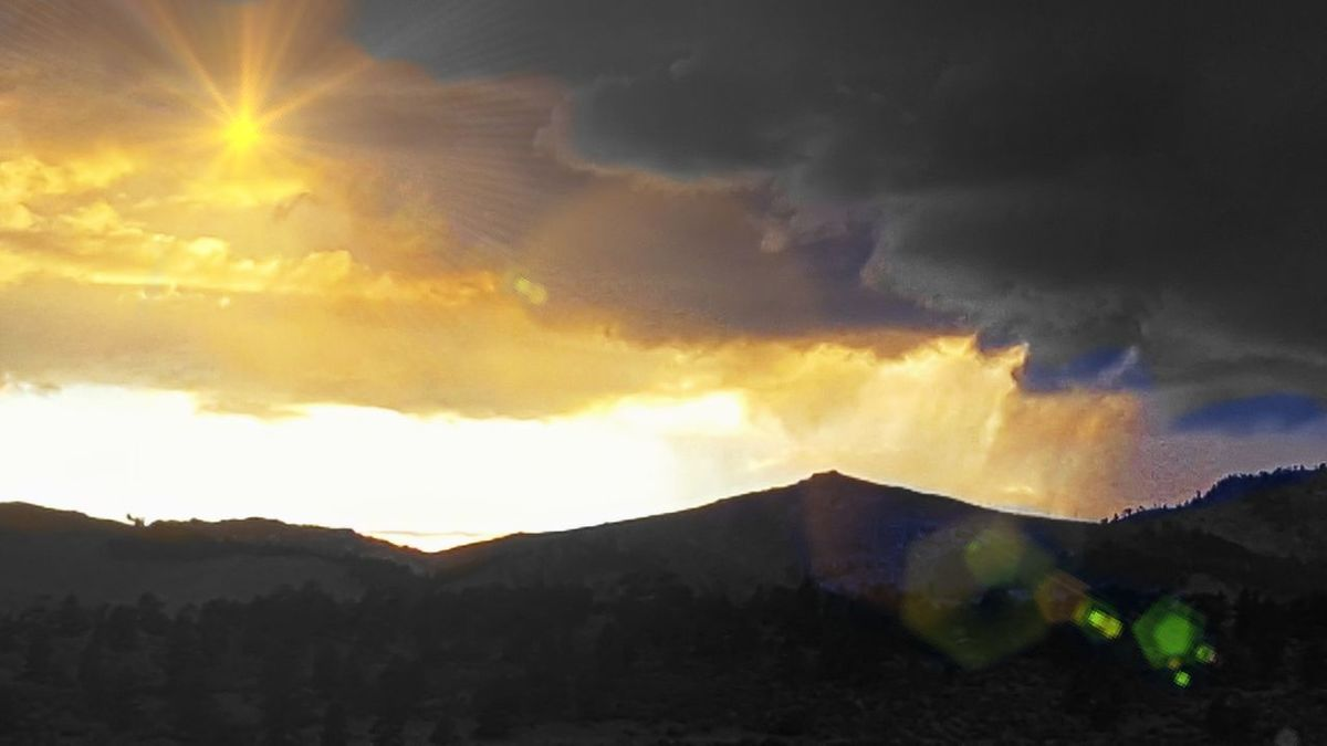 Apollo Approaches Mountain Nature Power In Nature Sunlight sunset sun clouds skylovers sky nature beautifulinnature naturalbeauty photography landscape Sunbeam Sunset And Clouds  Sun And Storm Clouds Sun And Stormy Clouds Mythology Mythological Magical Light Magical Atmosphere Magical Landscape Magic Approaches Power Of God Powerful Sunset Hope Silver Lining Clouds Golden Lining A Vision They Are Coming Light At The End Of Tunnel