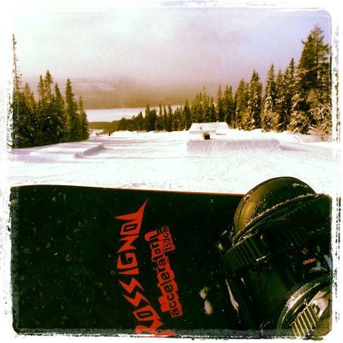 Snowboard Ski Lofsdalen Love beautiful sky slopes rossignol jump fear