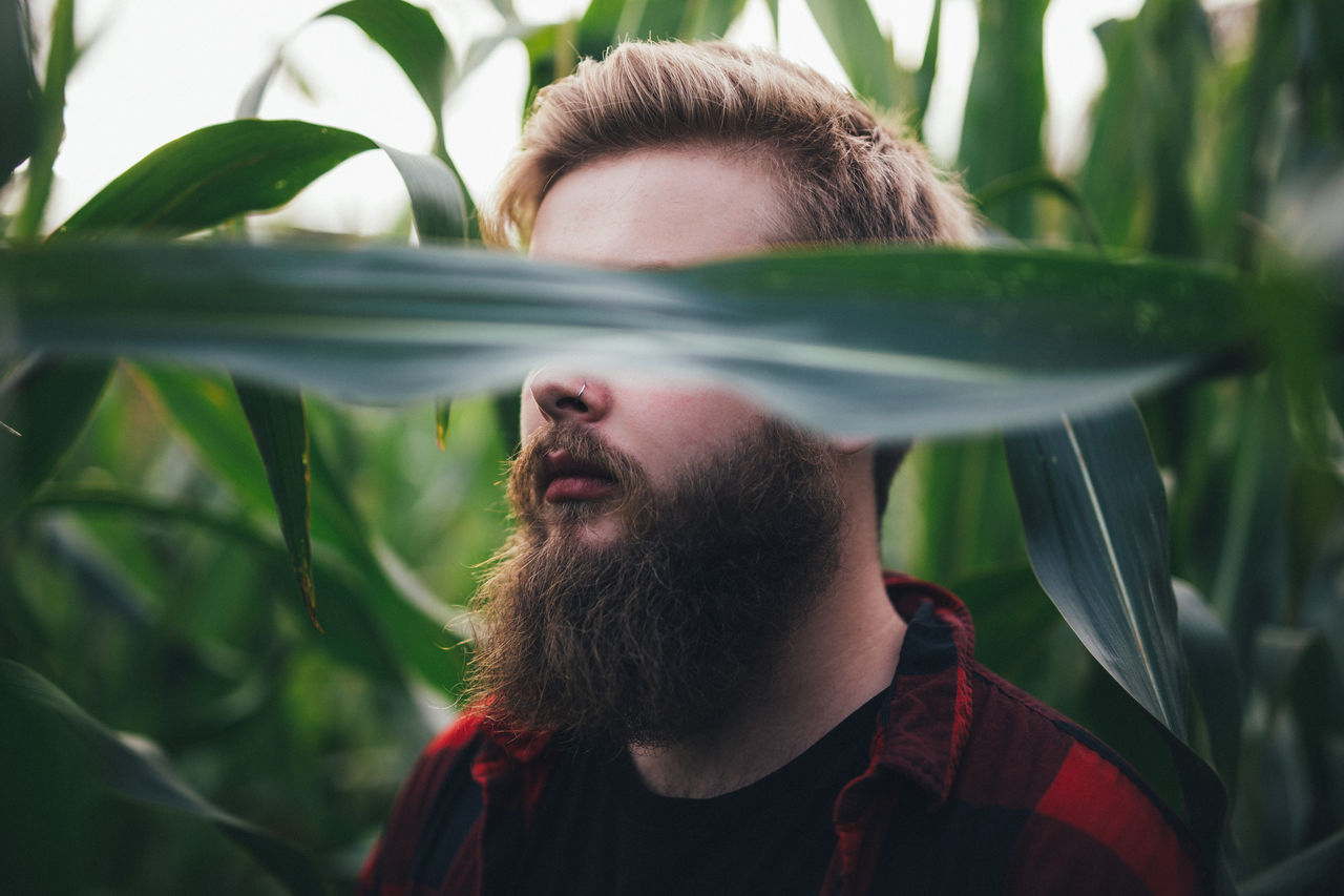 Beautiful stock photos of bart, plant, one person, green color, growth