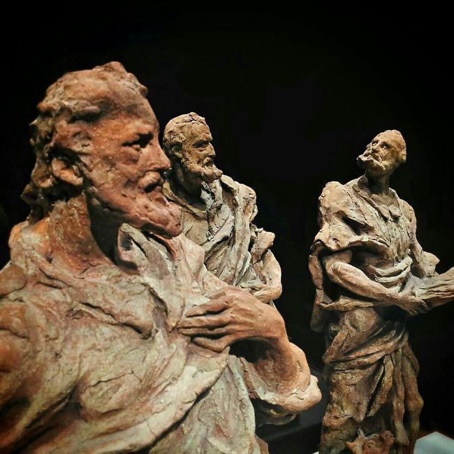 Three of the for apostles, Birmingham Museum of Art. Art Statue Birmingham Museum Of Art Apostles
