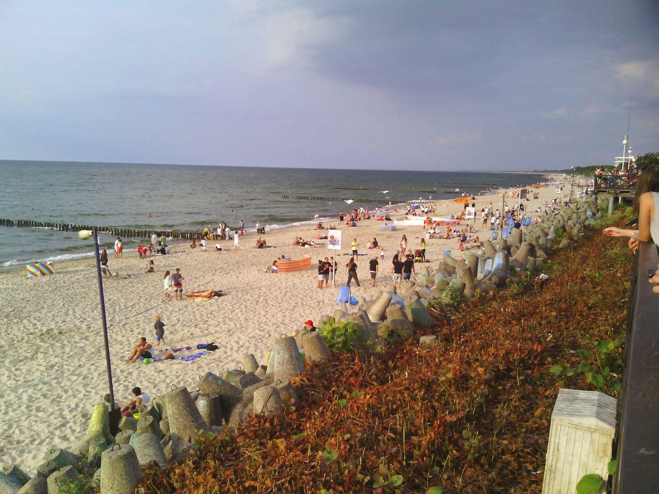 Plaża w Mielnie jest super.