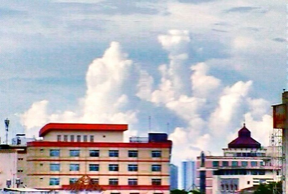 Buildings Sky And Clouds Check This Out Taking Photos From My Point Of View Getting Inspired EyeEm The Best Shots Beauty Cloud INDONESIA
