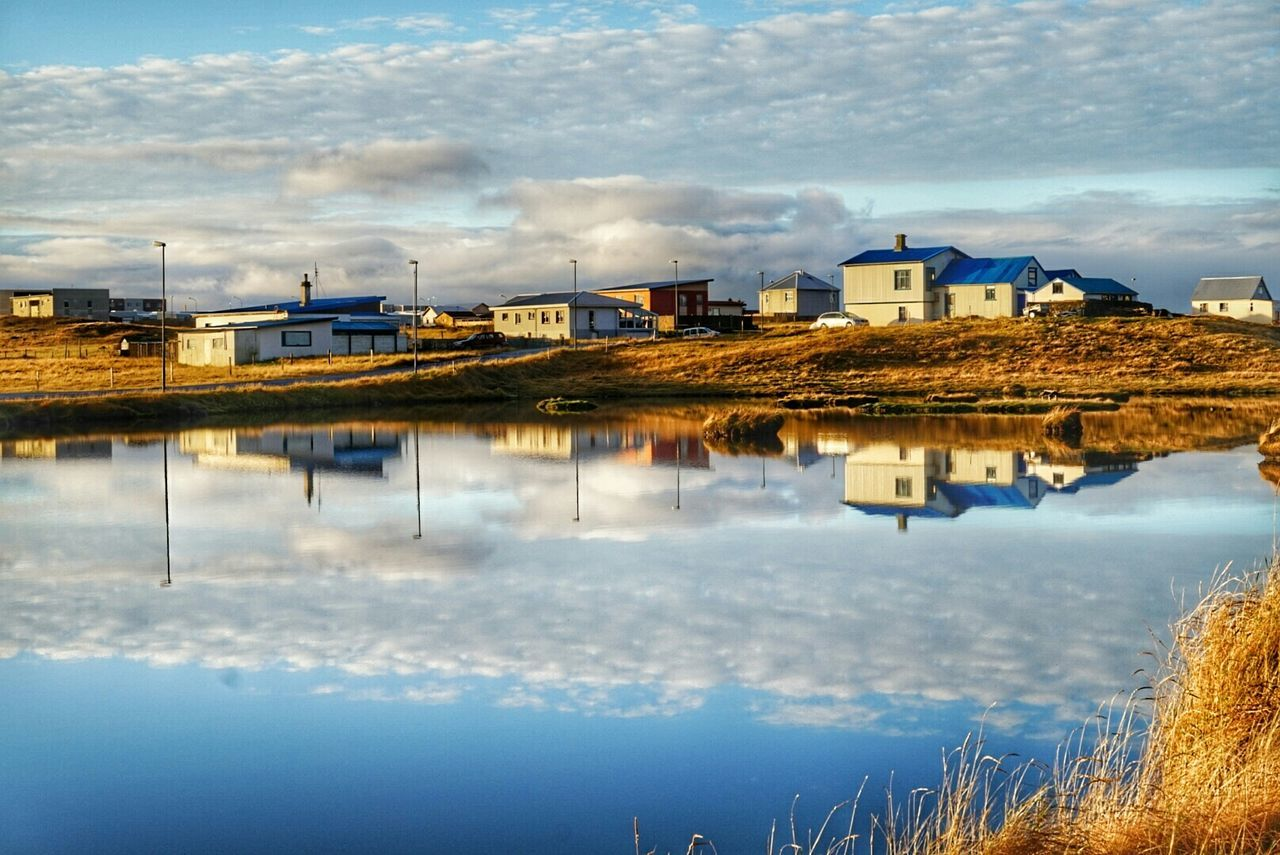 Beautiful stock photos of iceland, Architecture, Building Exterior, Built Structure, Cloud - Sky