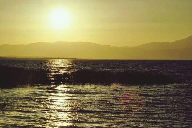 Sunset Sun ☀ Lake