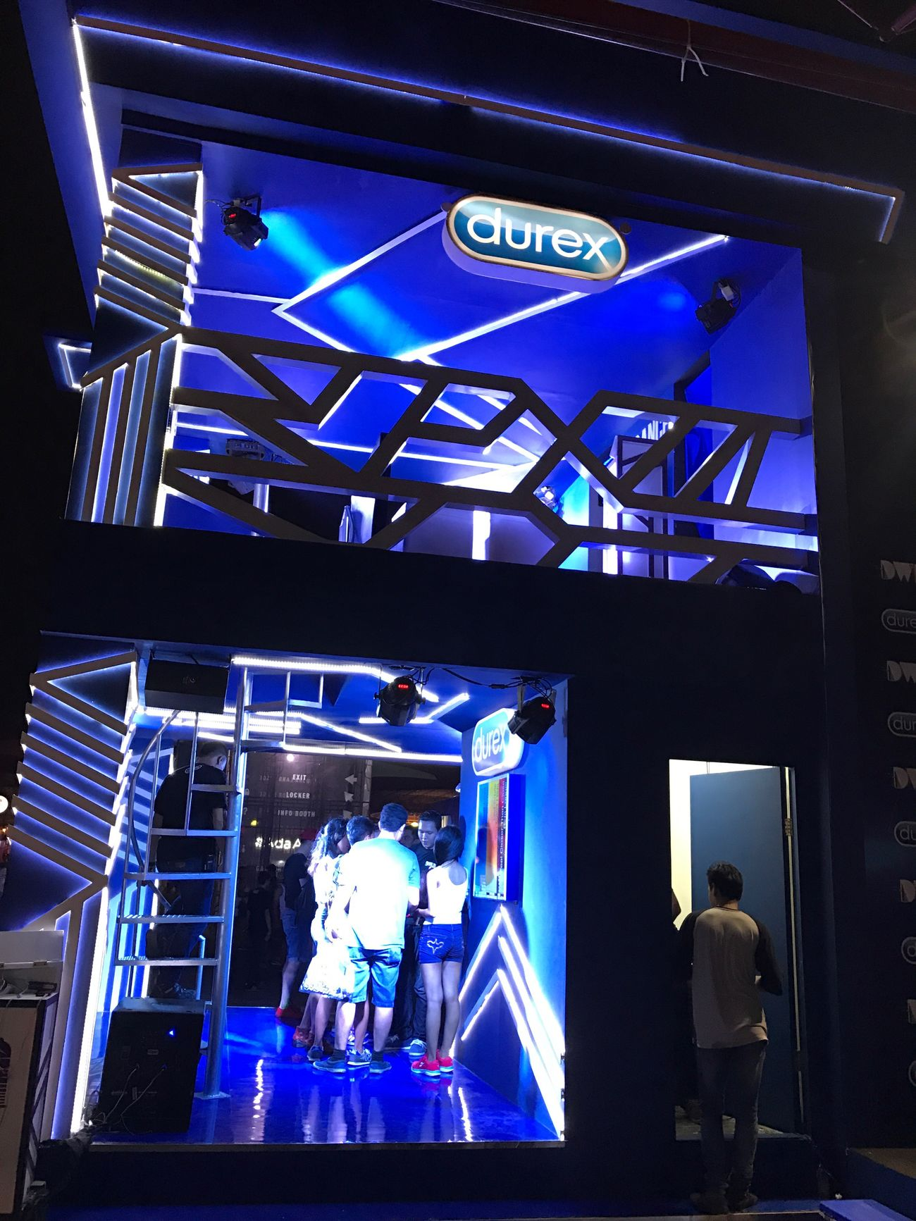Durex booth.. DWP16, at Jiexpo Kemayoran. Djakarta Warehouse Project 2016 By ITag Live In Concert By ITag Djakarta Warehouse Project By ITag DanceMusicFestival By ITag