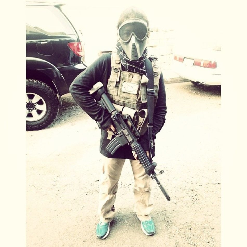 Looks like I found a new hobby/workout. :) Airsoft Battleready
