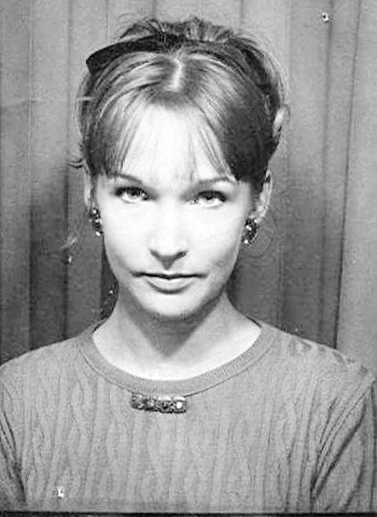 Mummy Russian Girl Russian Beauty Oldpicture Beauty Sixties B&W Portrait Black And White Portrait