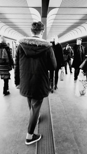 People Vienna Underground  Taking Photos Randomshot