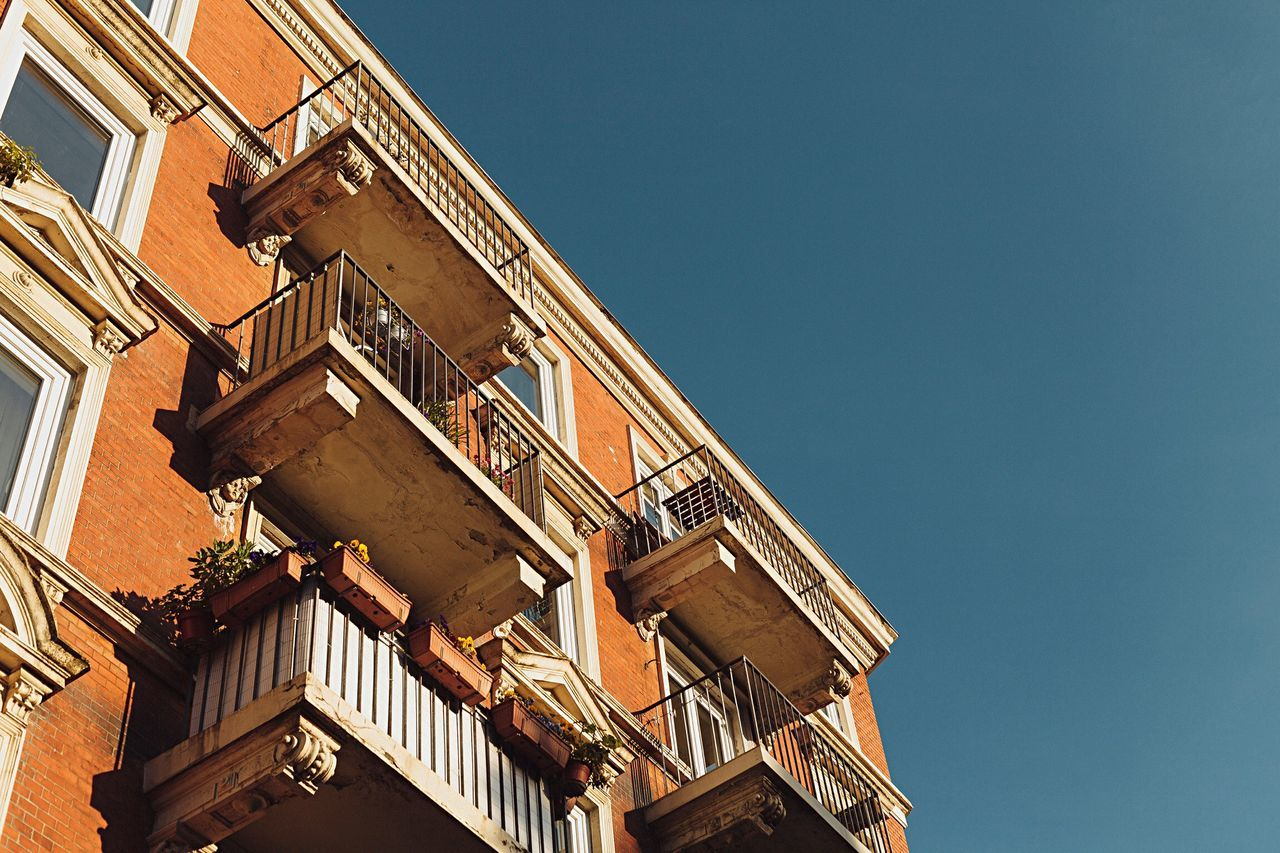 Beautiful stock photos of house, Architecture, Balcony, Blue, Building