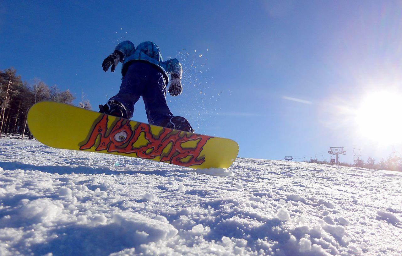 Snowboarders in action! Boy Burton  Burton Snowboards Day Extreme Sports Jump Kids Motion Outdoors S Ski Holiday Snow Snow Sports Snow ❄ Snowboard Snowboarding Snowboarding Winter Winter Sport