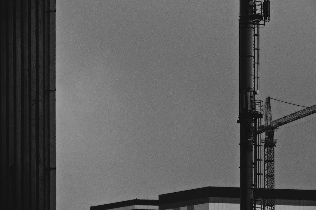 Baildon Steelworks Architecture Baildon Steelworks Black And White Black And White Photography Buildings Built Structure Chimney Crane Crane - Construction Machinery Cranes And Construction Industrial Architecture Industrial Installation Monochrome Monochrome Photography No People Outdoors Sky Steel Works ındustry
