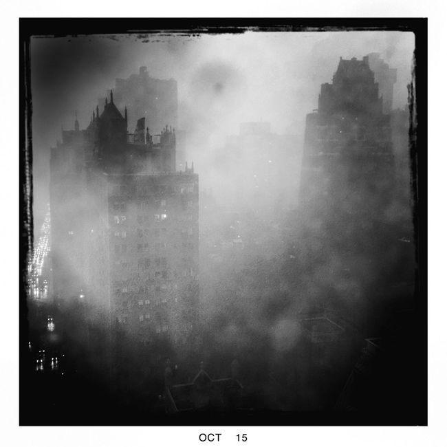 NYC thunderstorm