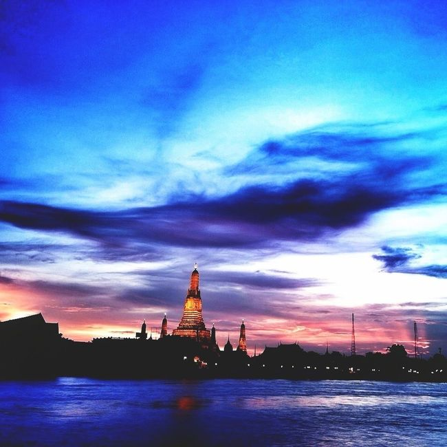 Sky Thailand_allshots Enjoying Life Sunset